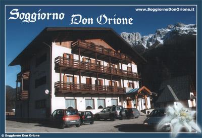 SOGGIORNO DON ORIONE : Ferienhaus in Soraga di Fassa - Trentino ...